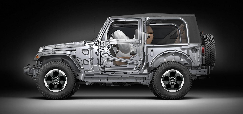 Jeep® Wrangler   Klassischer Geländewagen   Sicherheit